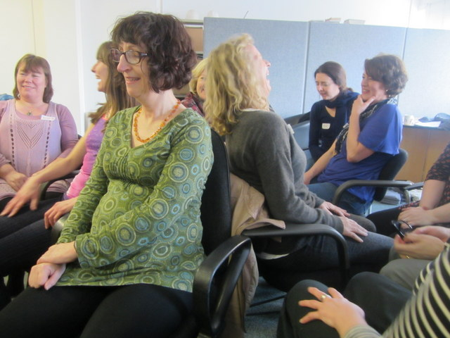 Laughter Yoga Leader Training April 2014 in London