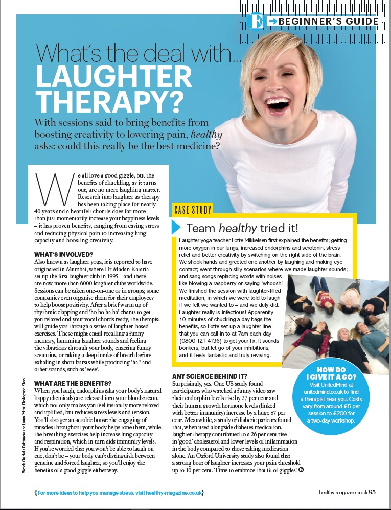 The laugh therapy